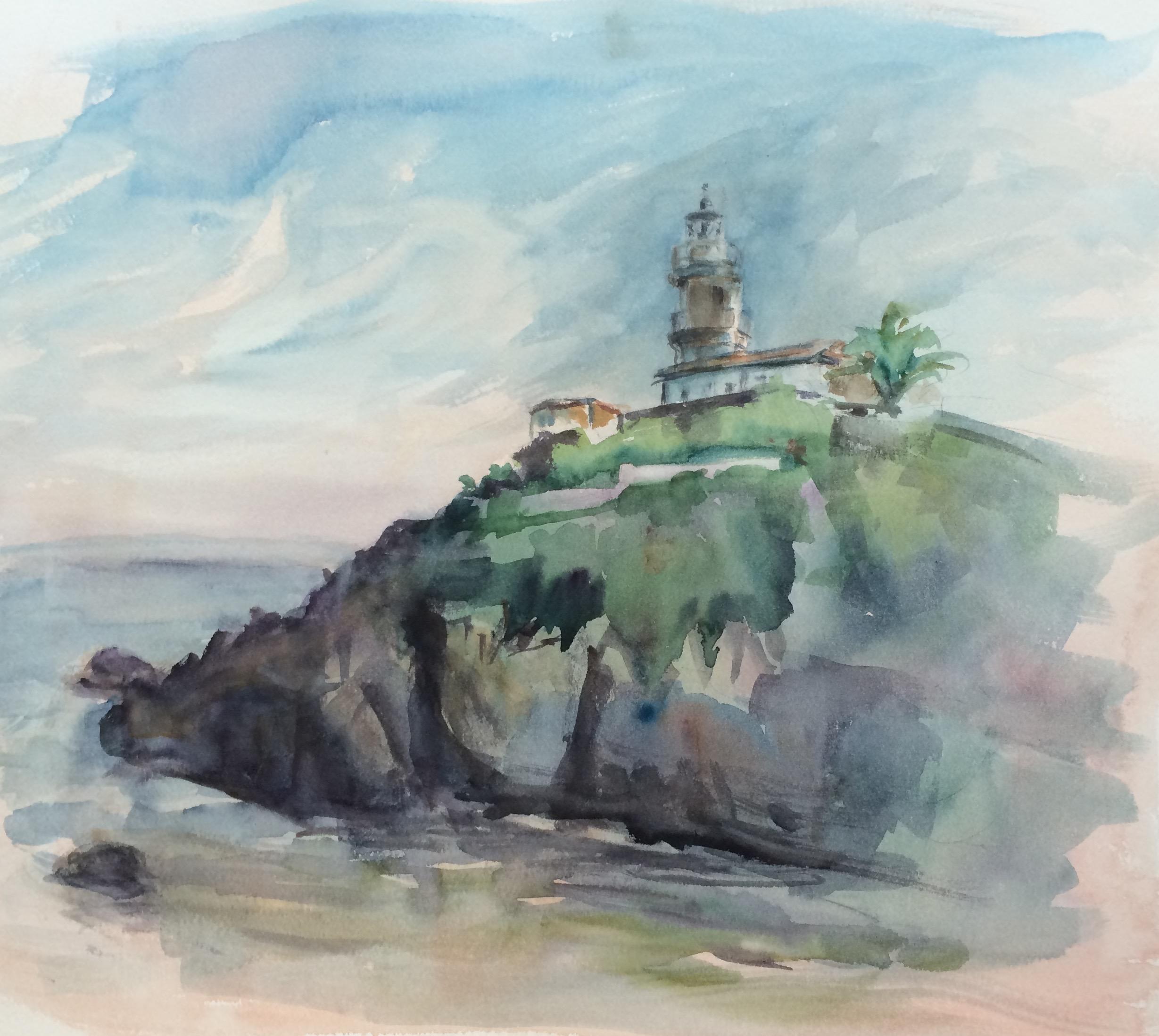 Lighthouse, Cudillero