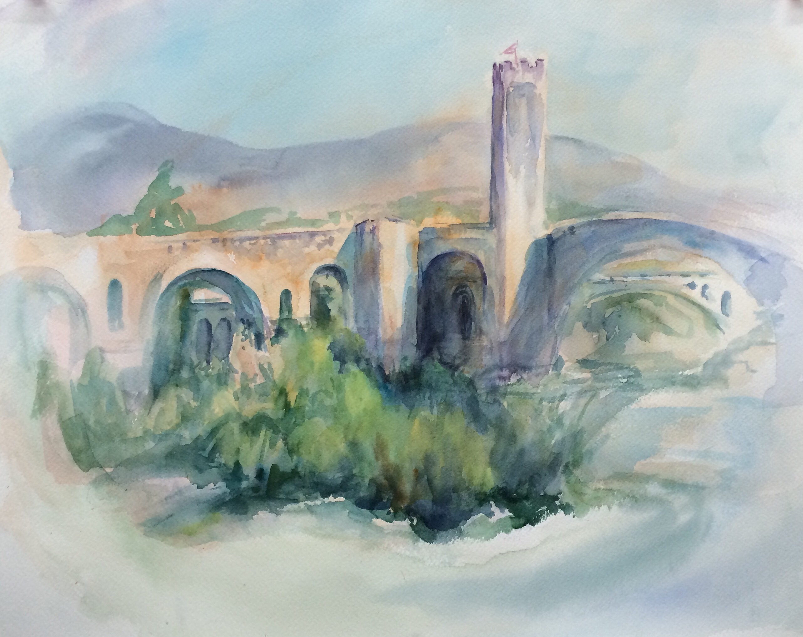 Bridge, Besalu