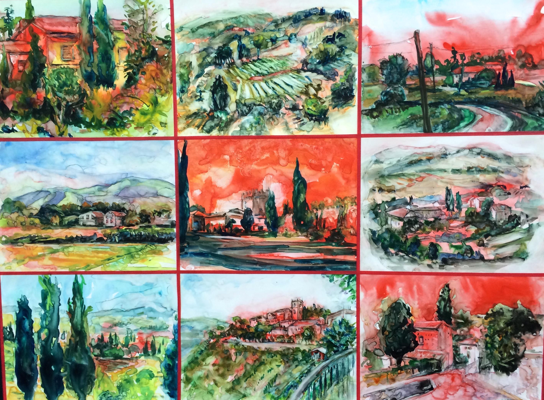 Nine Panels